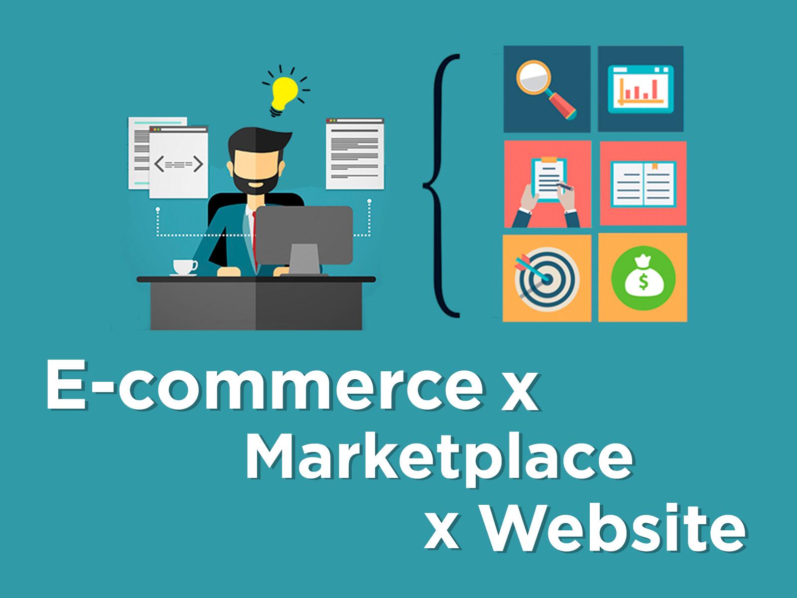 Perbedaan Brand E-commerce Marketplace dan Website di Mata Konsumen
