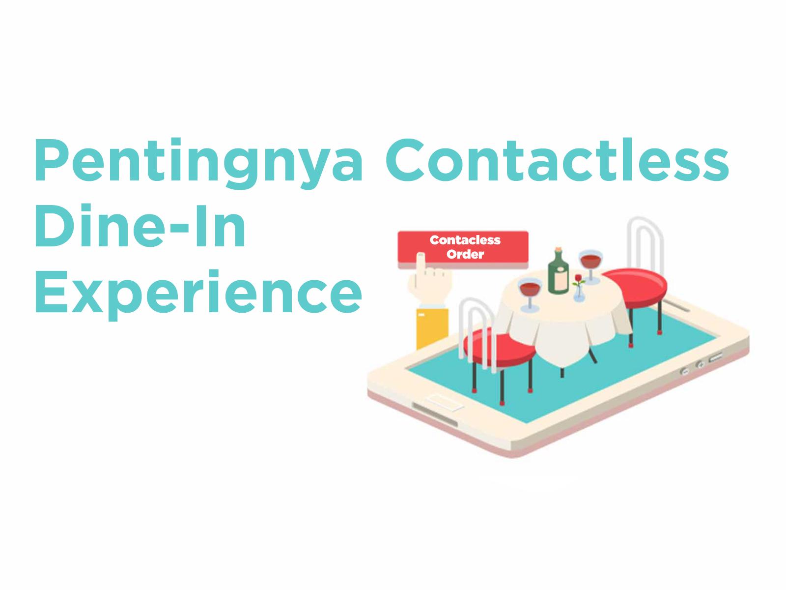 Restoran Terapkan Contactless Dine In Experience