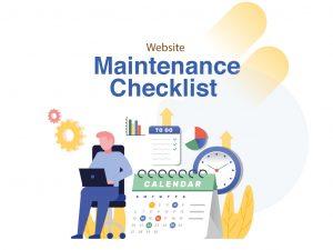 Website Maintenance Checklist untuk Penggunaan Secara Rutin